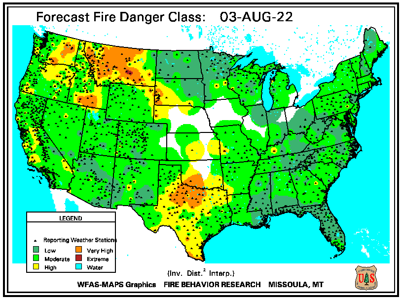 Forecast Fire Danger Classification