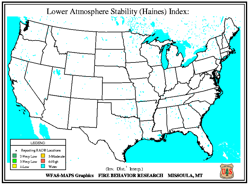 Haines Instability Index