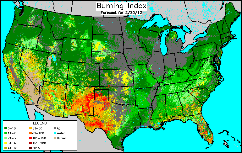 Conus Burning Index